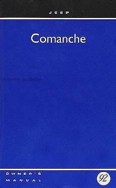 how to download repair manuals 1992 jeep comanche regenerative braking 1992 jeep comanche owner s manual original