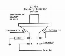 multi battery isolator wiring diagram free wiring diagram