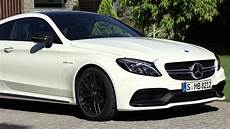 Mercedes Amg C63 S Coupe 2016 Drifting