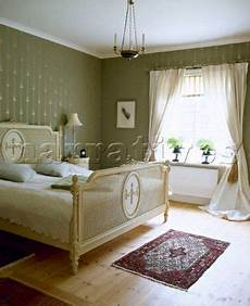 Bedroom Ideas Green And Gold by Country Green Bedroom Gustavian Bed Curtains