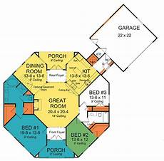 octagon house plan plan 42262wm octagonal cottage home plan good for them