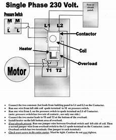 single phase motor starter wiring diagram free wiring diagram