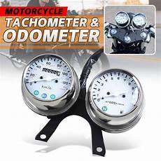 other motorcycle parts universal motorcycle speedometer odometer tachometer kit km h mph