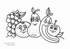 Ausmalbilder Obst Mit Gesicht картинки раскраски овощи фрукты