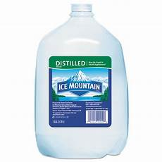 distilled water 1gal 6 office supply king