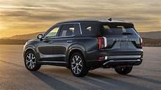 hyundai new suv 2020 palisade price 2020 hyundai palisade revealed at 2018 la auto show roadshow