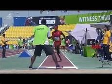 record du monde du saut en longueur un athl 232 te aveugle et qui fait du saut en longueur handisport 2015