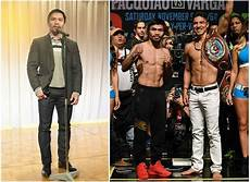 boxers height chart from shortest to tallest are there