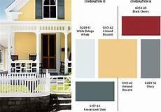 the paint schemes for house exterior maison jaune d 233 co maison et peinture ext 233 rieure