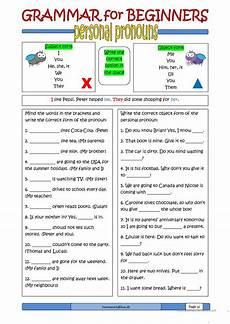 grammar for beginners personal pronouns worksheet free esl printable worksheets made by teachers