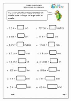 convert measurements measuring maths worksheets for year 5 age 9 10