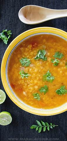 rote linsensuppe indisch easy indian lentil soup recipe vegan masala herb