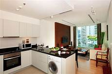 Kitchen Room Interior Small Spaces Kitchen And Living Room Apartment In One Room