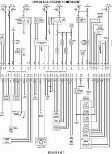Chevrolet Cavalier 1997 2000 2 2l Engine Schematic Diagram