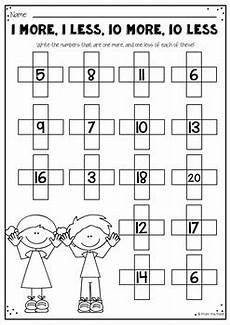help worksheets 18308 ten more ten less by from the pond teachers pay teachers