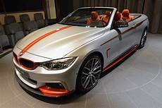 Bmw 435i Convertible Gets Funky Orange Accents