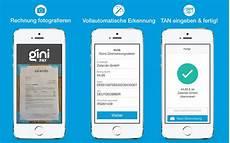 gini pay iphone app scannt rechnungen und erkennt daten