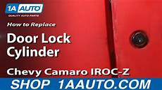 removing door lock cylinder 2010 chevrolet camaro how to install replace door key lock cylinder 82 92 chevy camaro iroc z pontiac firebird 1aauto