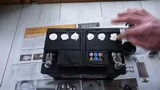 le sur batterie tuto niveau d 233 lectrolyte sur batterie sans entretien