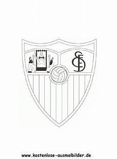Ausmalbilder Fussball Schweiz Fc Sevilla Vereinswappen Fussball Ausmalen Malvorlagen