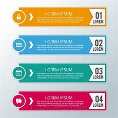 free vectors modern business infographic steps abstract