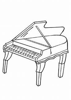 Gratis Malvorlagen Klavier Ausmalbilder Klavier Musik Malvorlagen