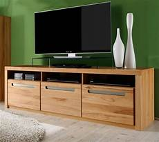 tv lowboard kern buche massiv fernseh tv tisch tv hifi