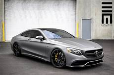 mercedes s63 amg coupe stealthy matte grey mercedes s63 amg coupe gtspirit