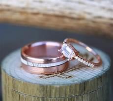 wood antler rings staghead designs design custom wedding bands wood antler wedding