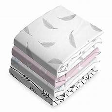 kushies 174 cotton flannel fitted crib sheet buybuy baby