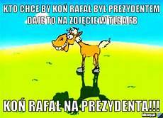 zdjecie w tle kto chce by koń rafał był prezydentem daje to na zdjęcie w tle a fb koń rafał na prezydenta