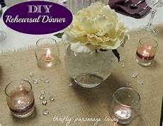 thrifty parsonage living diy rehearsal dinner on a budget