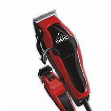 wahl 20 piece multicut hair clippers set with built in trimmer and bonus free clover hill