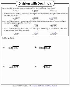 worksheet dividing decimals geotwitter kids activities