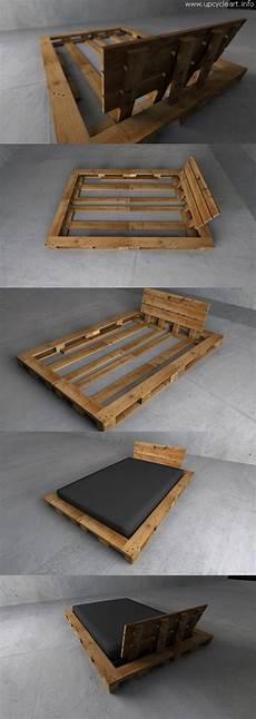 Europaletten Bett Bauen - 50 diy pallet ideas upcycle