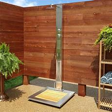 best outdoor showers that you can install at the exterior