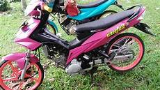Stiker Jupiter Z Modif by Modifikasi Jupiter Mx Stiker Scotlet Pink Lu