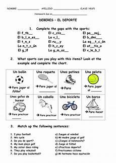 el deporte ks3 spanish resources by anamolina90 teaching resources tes
