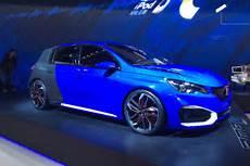 308 gti r shock 493bhp peugeot 308 r hybrid prepares for shanghai