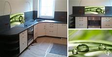 glas für küchenrückwand r 252 ckwand k 252 che milchglas