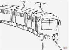 Ausmalbilder Zug Zug Malvorlage Einfach