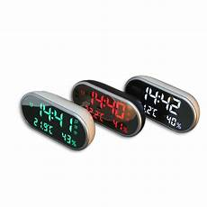 Alarm Clock Mirror Display Digital Temperature by Digital Usb Alarm Clock Portable Mirror Hd Led Clock With