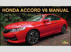 2016 Honda Accord V6 Manual 2DR EX L   Review & Test Drive