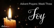 advent week 3 prayer for