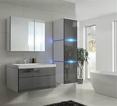 Badezimmermöbel Grau Hochglanz - kaufexpert badm 246 bel set 1 new grau hochglanz wei 223