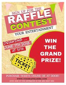 Raffle Ticket Fundraiser Flyer Poster Fundraising Poster Templates Postermywall