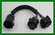 oem trailer plug wiring harness y adapter converter splitter 40984 25 25 picclick