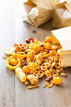 snack mix party mix for tailgating or any occasion