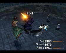 Image result for FF7 Battle Window