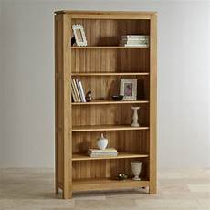 galway natural solid oak bookcase living room furniture
